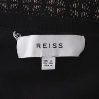 Reiss Robe en noir / beige