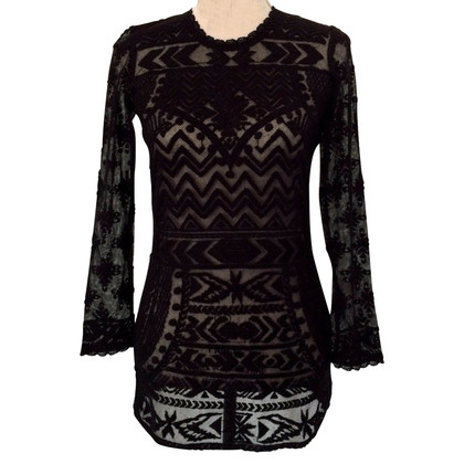 Isabel Marant for H&M Gemiddelde lengte jurk kanten