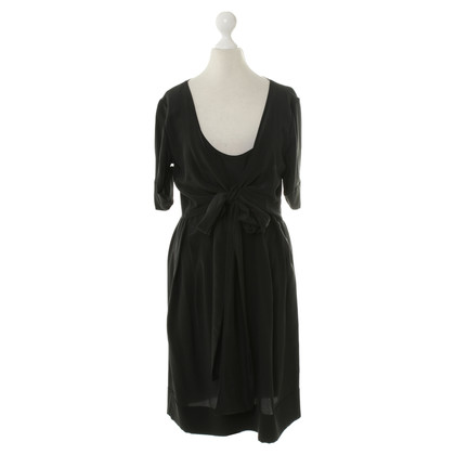 Stella McCartney black dress with geknotetem detail