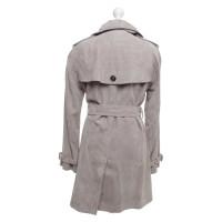 Burberry Trenchcoat aus Velousleder