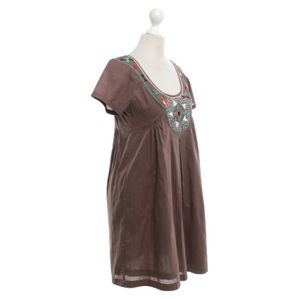 Antik Batik Robe coloris taupe