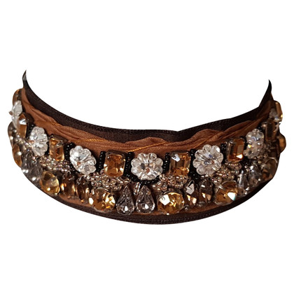 Prada Collar with gemstone trimming