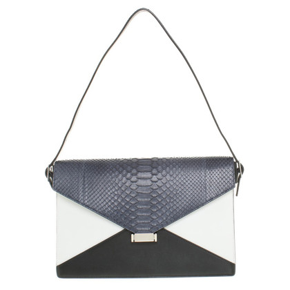 Céline Céline Diamond Bag Clutch aus Leder