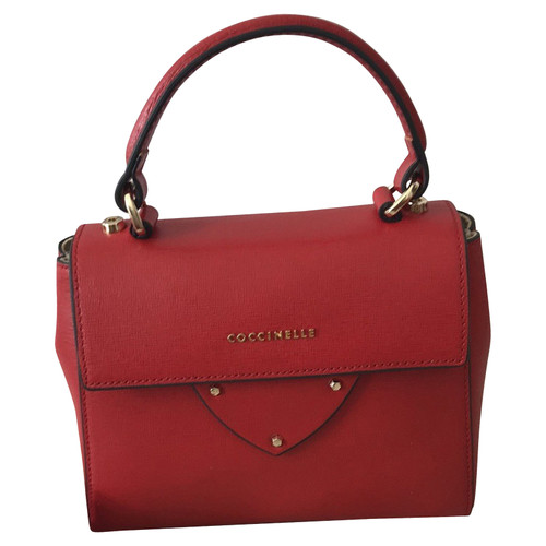 amazing selection exclusive shoes cheap prices Coccinelle Handtasche aus Leder in Rot - Second Hand ...
