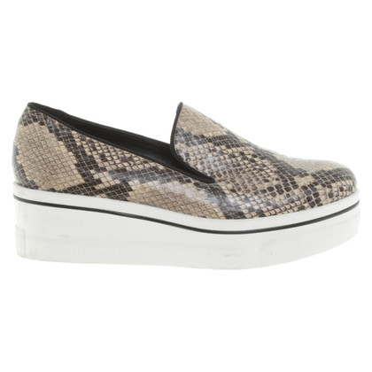 Stella McCartney Loafer in reptile optics