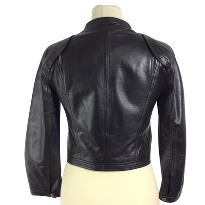 Céline Short leather jacket