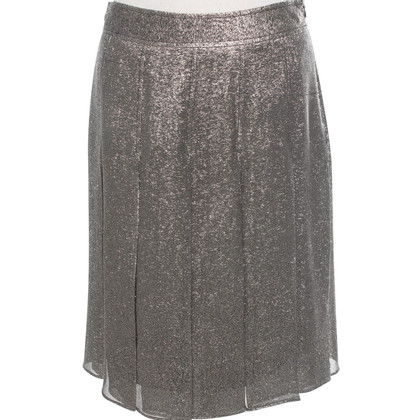 Moschino skirt in gold