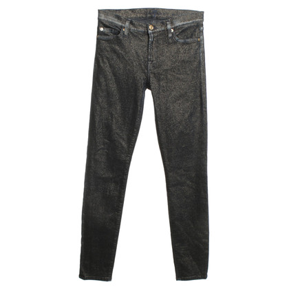 7 For All Mankind Blue jeans with fancy