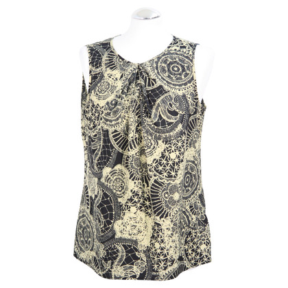 Clements Ribeiro top with pattern