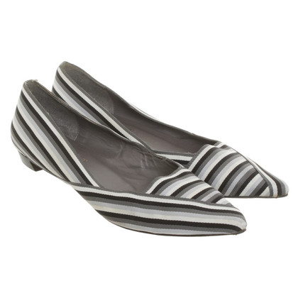 L.K. Bennett Ballerinas with striped pattern