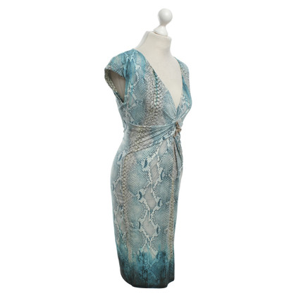 Roberto Cavalli Dress with reptile pattern