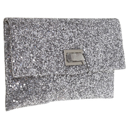 Anya Hindmarch clutch con pietre semipreziose