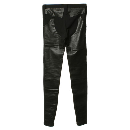 Givenchy Trousers with leather details