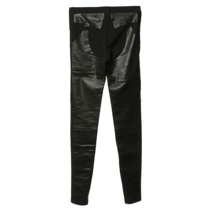 Givenchy Pantaloni con dettagli in pelle