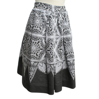 Jonathan Saunders skirt with pattern