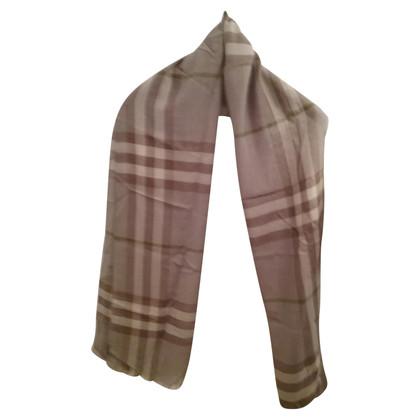 Burberry Sjaal gemaakt van wol/zijde
