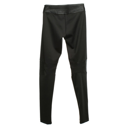 Philipp Plein Biker pants in black