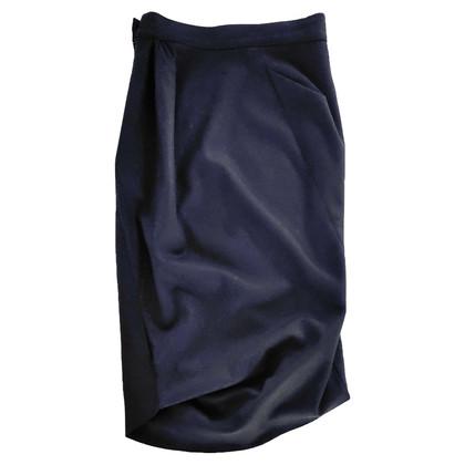 Vivienne Westwood Zwarte asymmetrische rok