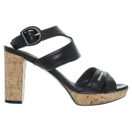 Baldinini Sandals with Cork platform
