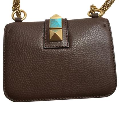 Valentino Rockstud Lock Bag