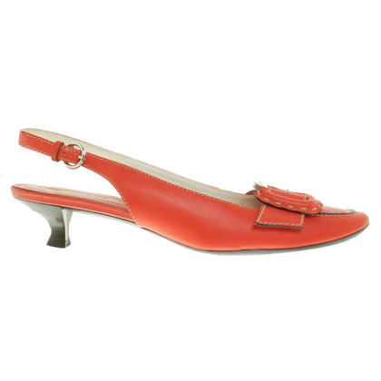 Tod's Slingpumps in red