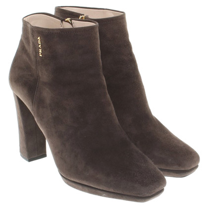 Prada Ankle boots in brown