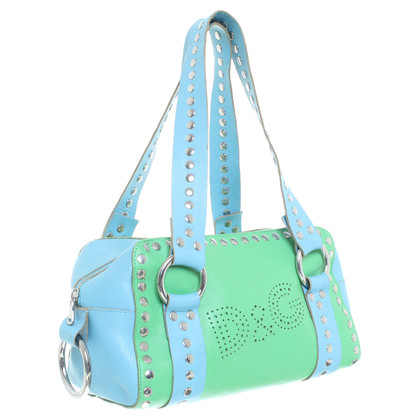 D&G Hand bag in green and blue