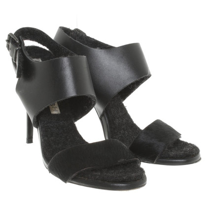 Acne Sandals in zwart