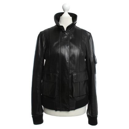 Other Designer Santacroce - leather jacket in black
