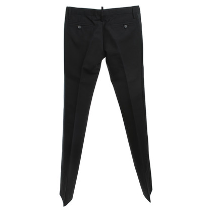 Dsquared2 pantalon de smoking en noir