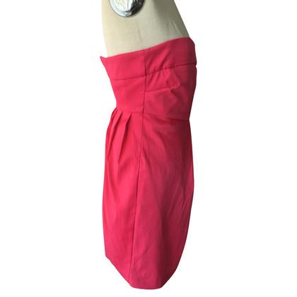 Gestuz Strapless jurk in roze