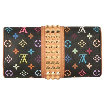 """Louis Vuitton """"Courtney clutch Monogram Multicolore Canvas"""""""
