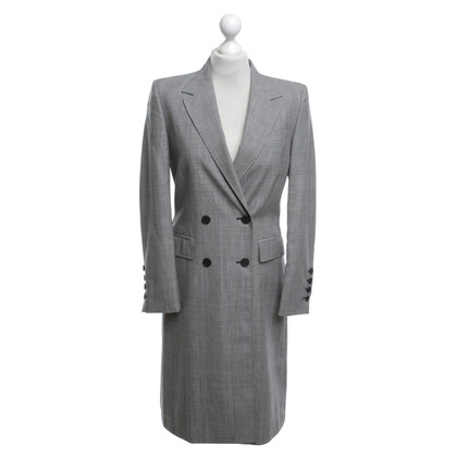 Rena Lange Coat with checked pattern