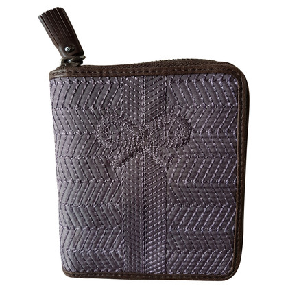 Anya Hindmarch Purple Wallet