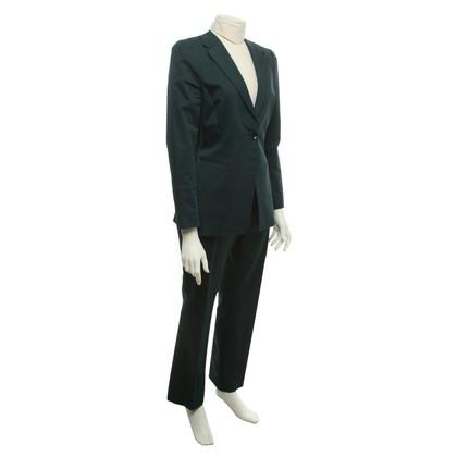 Schumacher Trouser suit in dark green