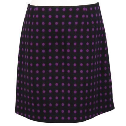 Hobbs Wool skirt with pattern