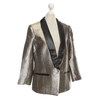 Munthe Blazer in silver and gold