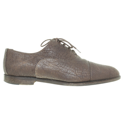 Jil Sander Lace-up schoen in donkerbruin