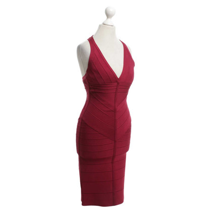Hervé Léger Dress in red