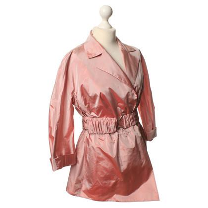 Akris Silk jacket in Rosé
