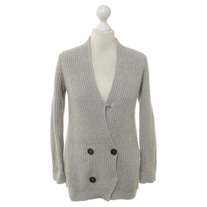 Brunello Cucinelli Cashmere vest in grey