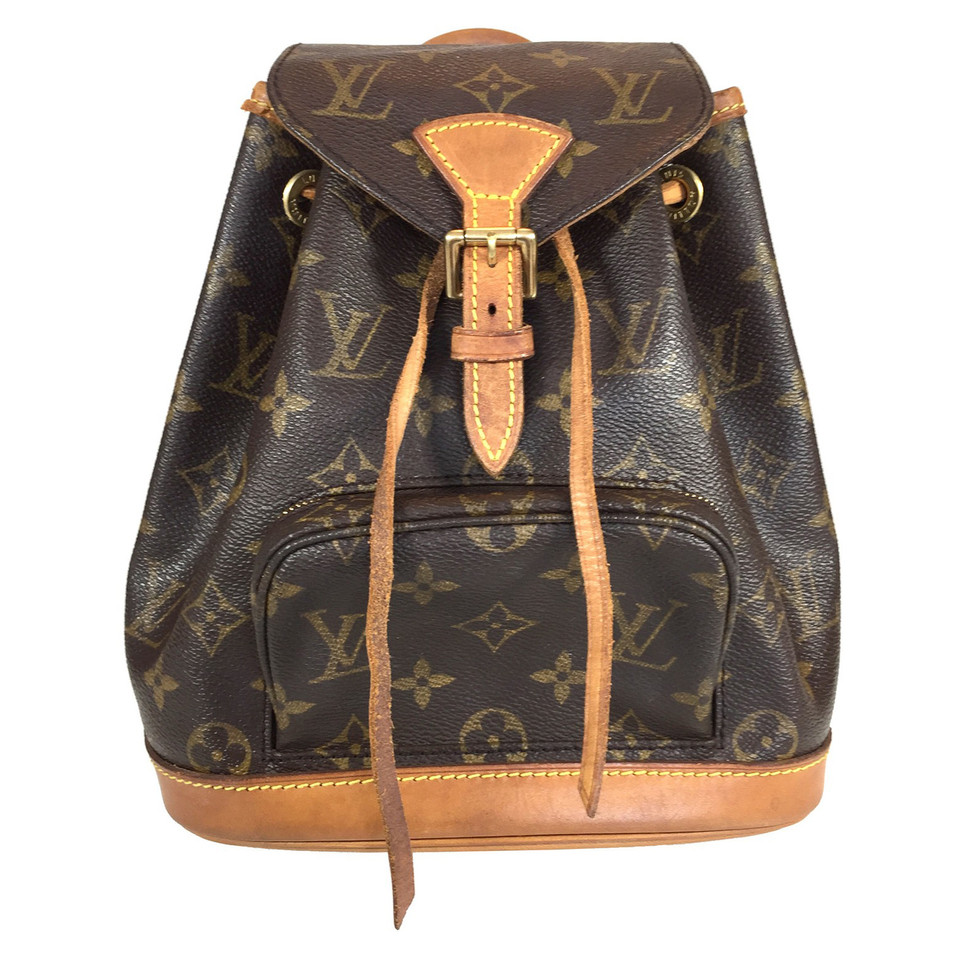 Louis Vuitton Montsouris Mini Monogram Canvas