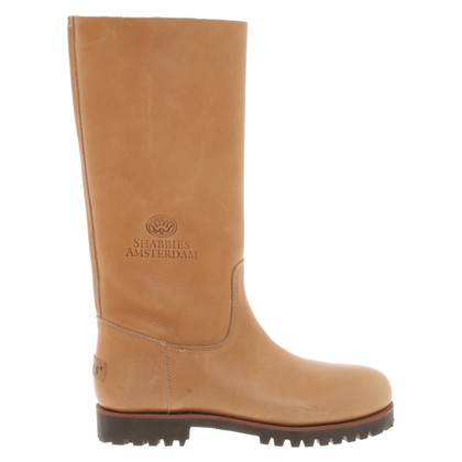 Shabbies Amsterdam Boots in brown