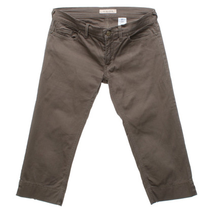 See by Chloé trousers in olive green
