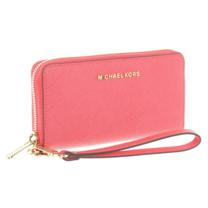 Michael Kors Wallet in Korallfarben