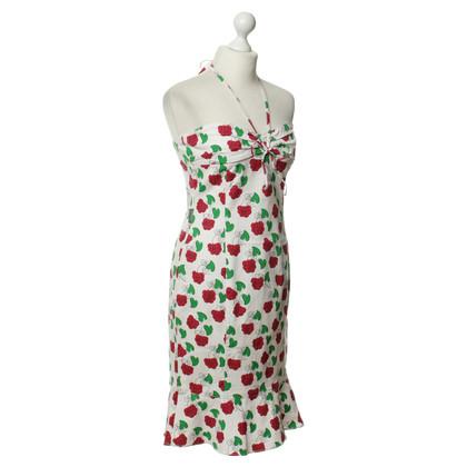 Moschino Kleid mit Rosenmuster