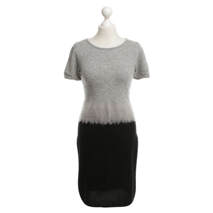 Strenesse Blue Knit dress in gray / black