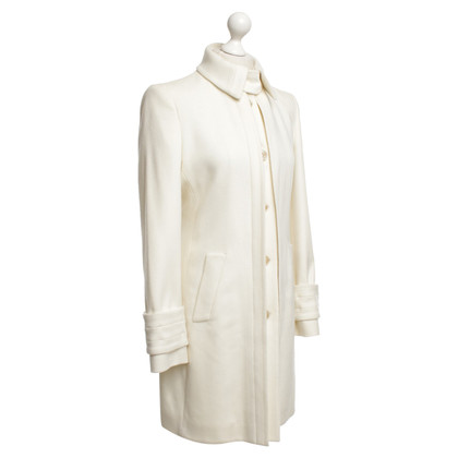 Hugo Boss Cappotto in crema bianca