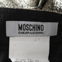 Moschino skirt in gold