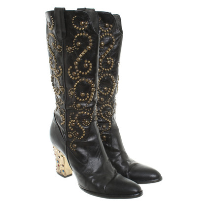 Other Designer Lesilla - boots with semi-precious stones